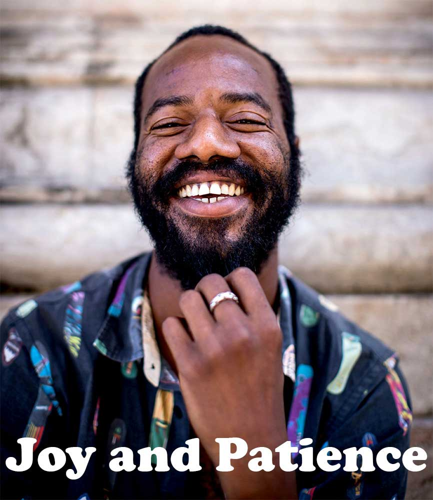 """Image for bite-sized sermon """"Joy and Patience"""""""
